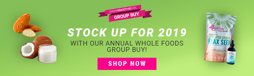 2019 Group Buy from Green Smoothie Girl