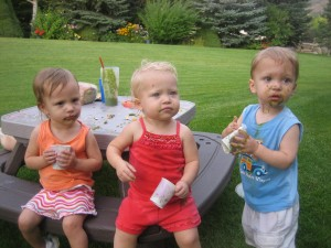 Grandchildren of GSG reader Karen