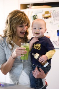 Desiree and Isaiah green smoothie mustache (648 x 968)
