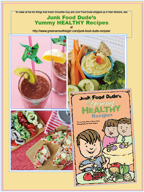 junk food dude healthy recipes
