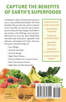 Green-Smoothies Diet Back Cover