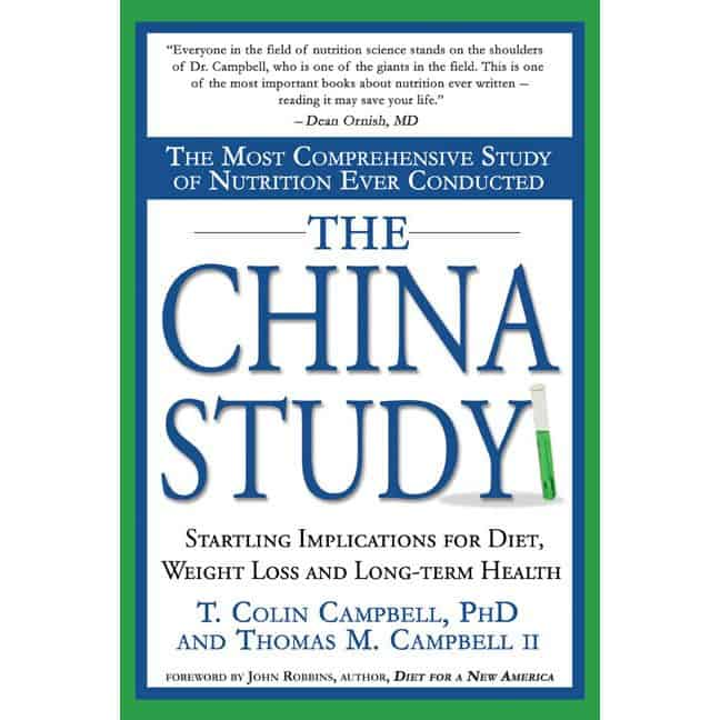 Book Cover - The China Study - T. Colin Campell