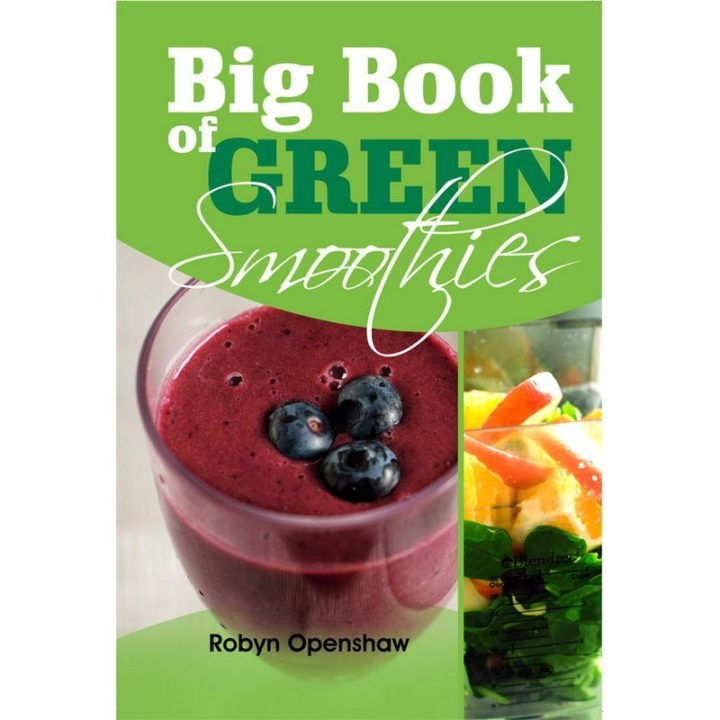 Big Book of Green Smoothies book cover
