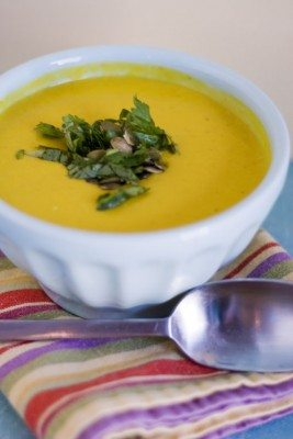 Recipe photo - Butternut Squash and Lemon Grass Soup