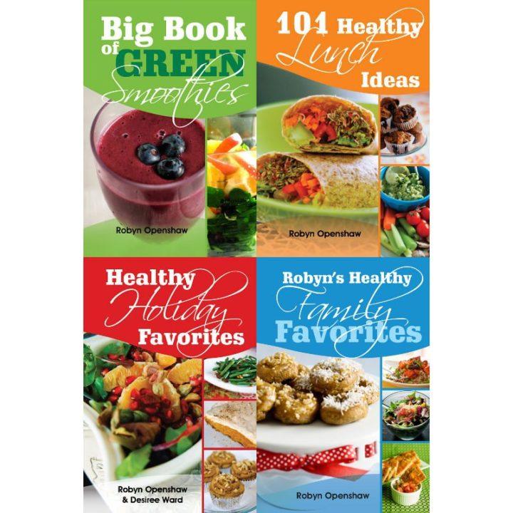 Four Recipe Books Discount Pack photo
