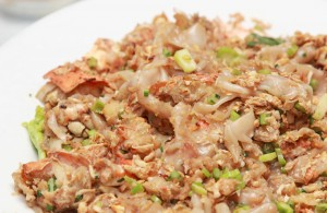 meat loaded rice