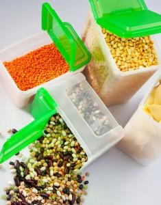 stored legumes