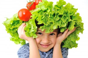 salad kid