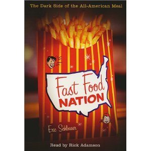 Book cover - Fast Food Nation