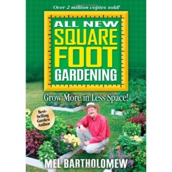 Book cover - All New Square Foot Gardening - Bartholomew