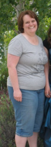 a woman who lost 100 lbs