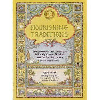 Book cover - Nourishing Traditions - Sally Fallon
