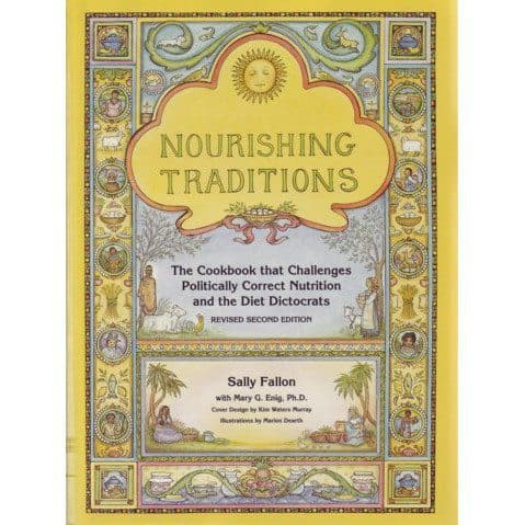 Book cover - Nourishing Traditions - Sally Fallon