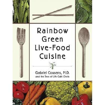 Book cover - Rainbow Green Live-Food Cuisine