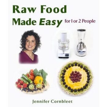 Book cover - Raw Food Made Easy - Cornbleet