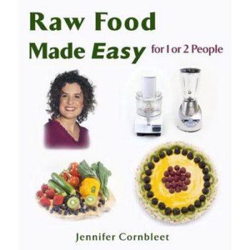 Book cover - Raw Food Made Easy - Cornbleet