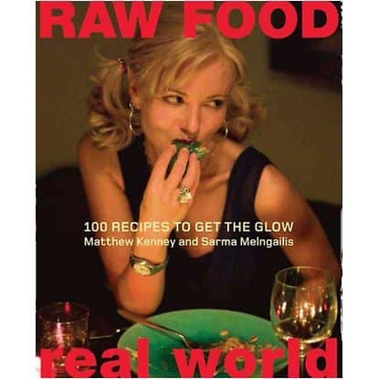 Book cover - Raw Food Real World