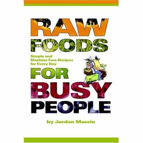 Book cover - Raw Foods for Busy People - Maerin