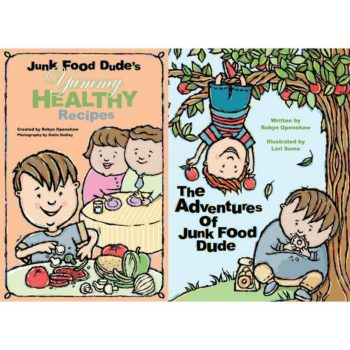 Junk Food Dude Collection book covers