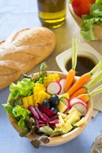 salad french bread