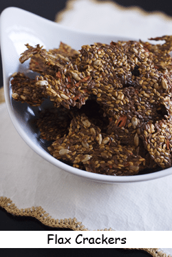 Photo of flax crackers recipe