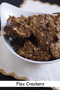 Photo of flax crackers recipe