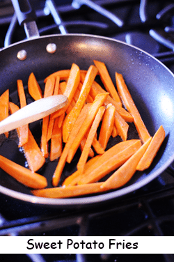 Photo of sweet potato fries recipe