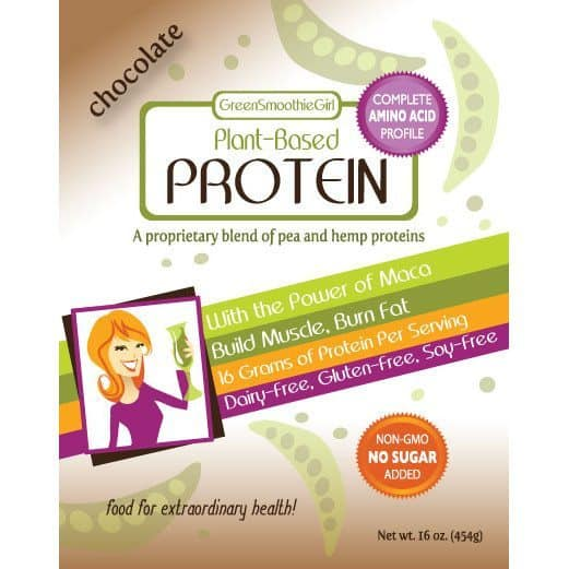 Product label - Chocolate Protein