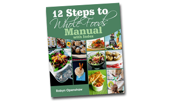 12 Steps to Whole Foods Manual Only