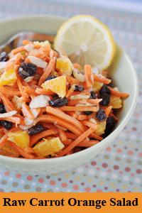 Photo of Raw Carrot Orange Yummy Salad recipe