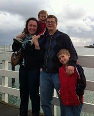 Scott Graybek and Family