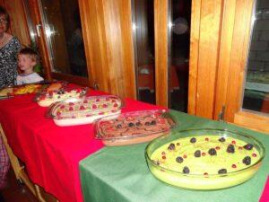 Dessert bar at Gala Dinner! (no sugar, still delicious!)
