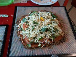 Raw Pizza Crust