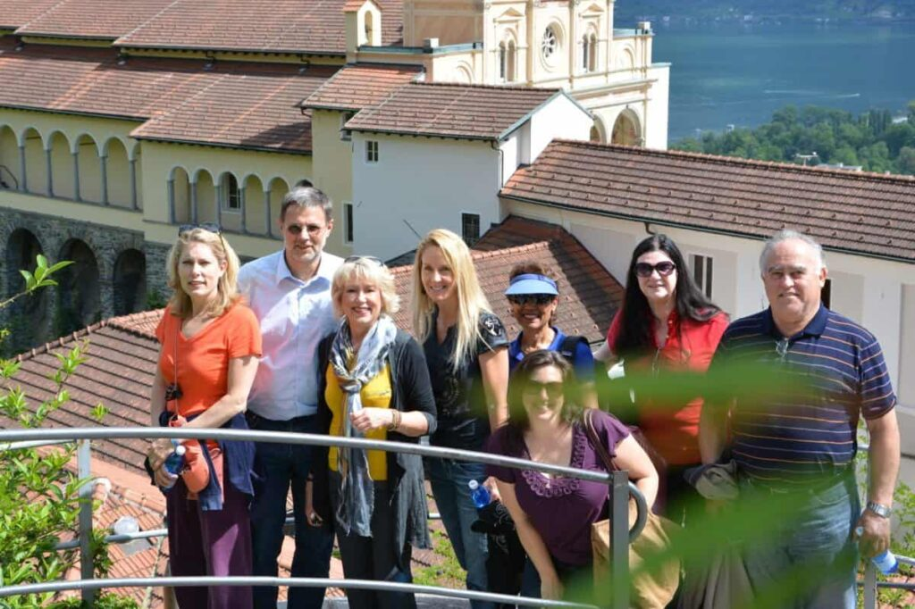 GSG group at Lake Maggiori