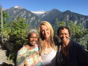 Eugenie and Robyn in Beautiful Switzerland!