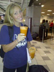 Contest 2 carrot juice