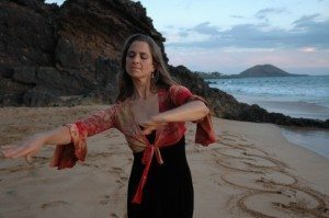 Jamila dancer pose