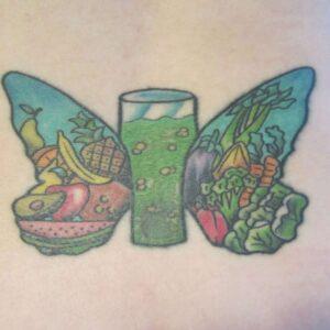 Coach Karen's tat, up close!