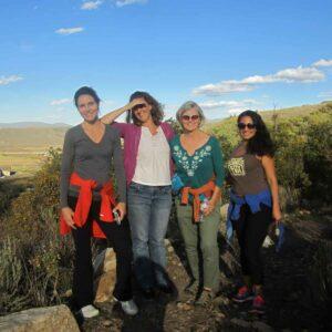 Coaches Carol, Karen, Cathi, and Mariza