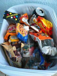 throw away junk