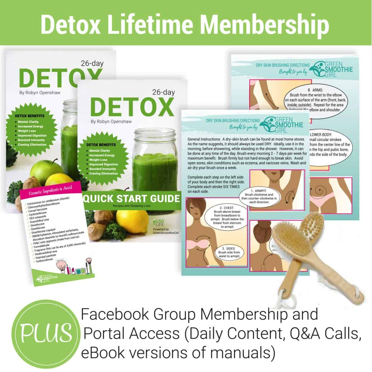 Detox Lifetime Membership