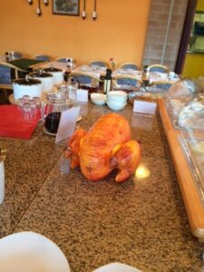 blow up turkey