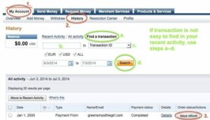 PayPal GSG Affiliate Chargeback