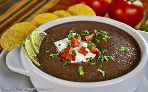 blackbean soup