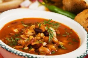Kidney bean soup