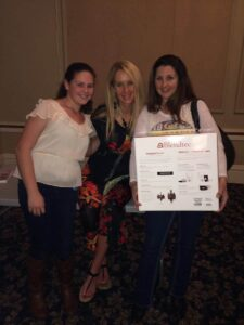 Robyn with Melissa and daughter and new Blendtech