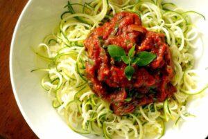 raw tomato sauce