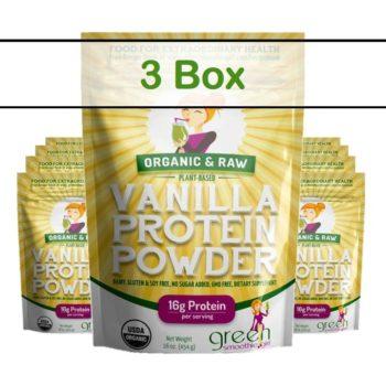 Protein Vanilla Singles - 3 box