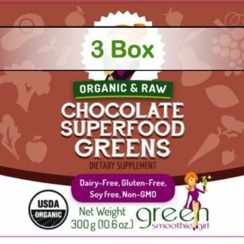 Superfood Singles - Chocolate Greens