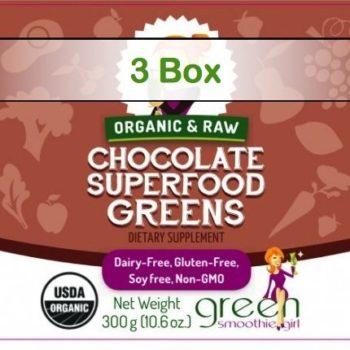 Superfood Singles - Chocolate Greens